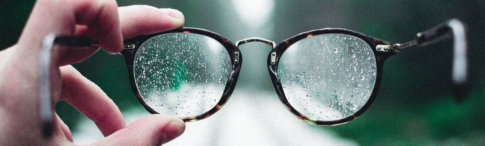 Water-Repellent Lenses