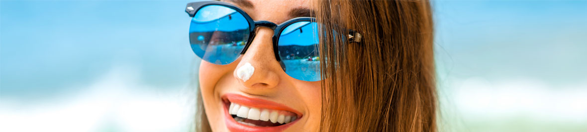 Lenses for UV protection